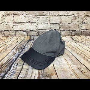 Lululemon navy and gray adjustable hat
